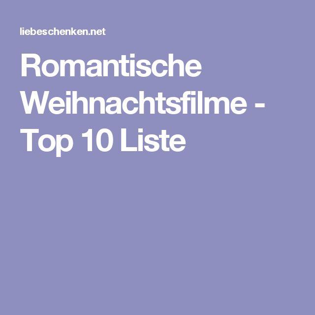Romantische Weihnachtsfilme - Top 10 Liste