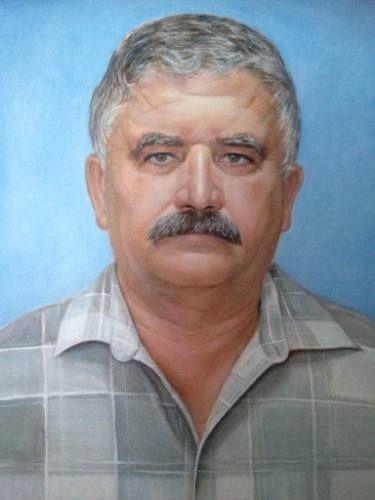 "Saatchi Art Artist Tatiana Wilson; Painting, ""Men with mustaches"" #art"
