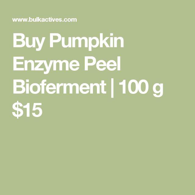 Buy Pumpkin Enzyme Peel Bioferment    100 g $15