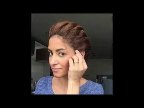 Греческая прическа - сайт Goddes - Сара Angius много причесок видео!!!