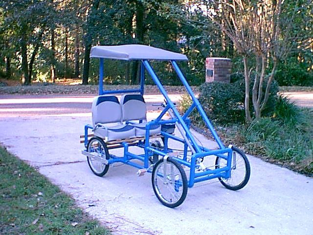 Are build an adult pedal car