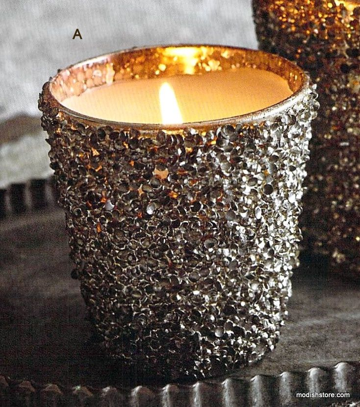 Roost Glittering Filled Candle – Modish Store