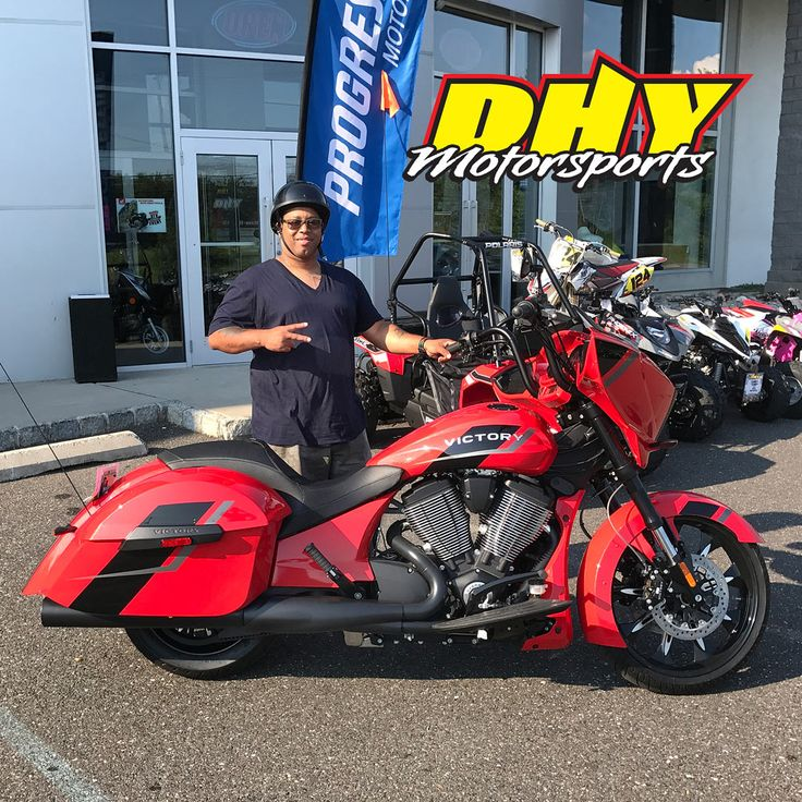Congrats walter on the purchase of this 2017 victory for Deptford honda yamaha