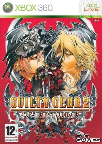 GUILTY GEAR 2 OVERTURE  XBOX 360 NUOVO!!