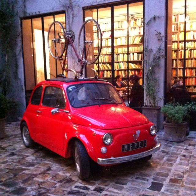 Cool concept store Merci in Paris