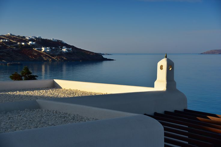 Chimney at Mykonos Grand located in lower level