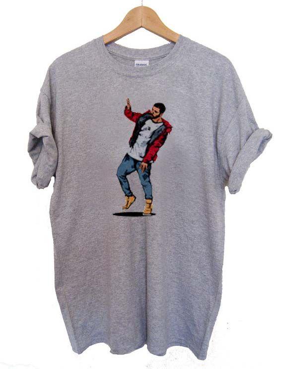drake dancing T Shirt Size S,M,L,XL,2XL,3XL