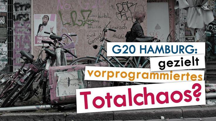 G20 Hamburg: gezielt vorprogrammiertes Totalchaos? | 09. Juli 2017 | www...