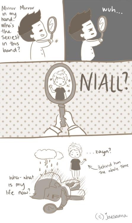 cartoon 1D | cartoon 1d one direction niall niall horan zayn zayn malik