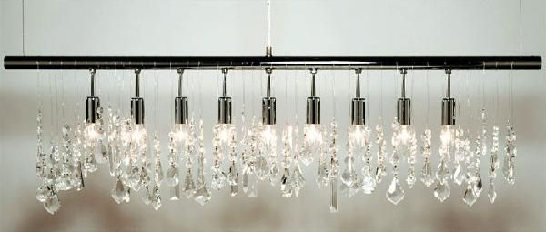 Linear Chandelier - Look 4 Less and Steals and Deals.