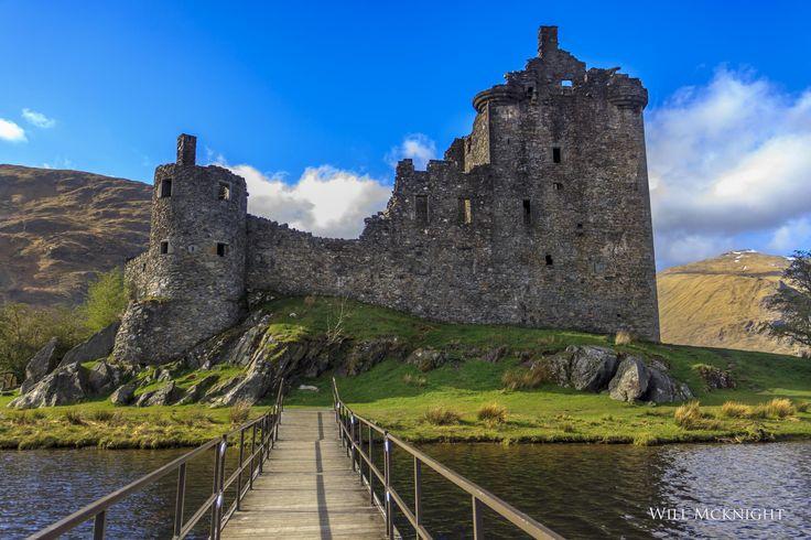 Kilchurn Castle , Loch Awe , Argyle by William  McKnight  on 500px ~The ruins of Kilchurn Castle, Loch Awe, Argyle , Scotland