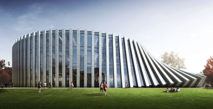 UMass Amherst's Isenberg School of Business to receive modern, twisted addition from BIG | Building Design + Construction