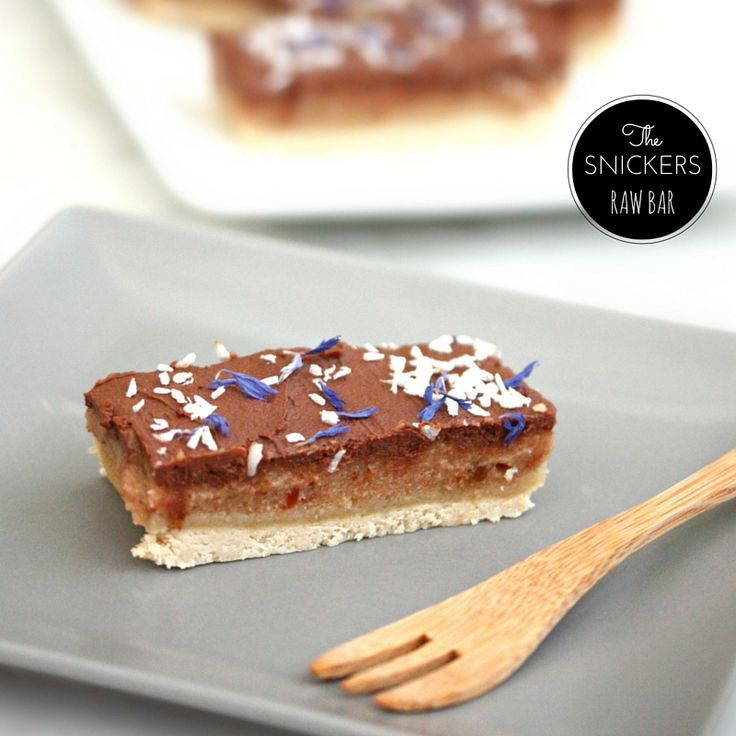 Snickers totalement décadent // No bake snickers bar – PIMP ME GREEN