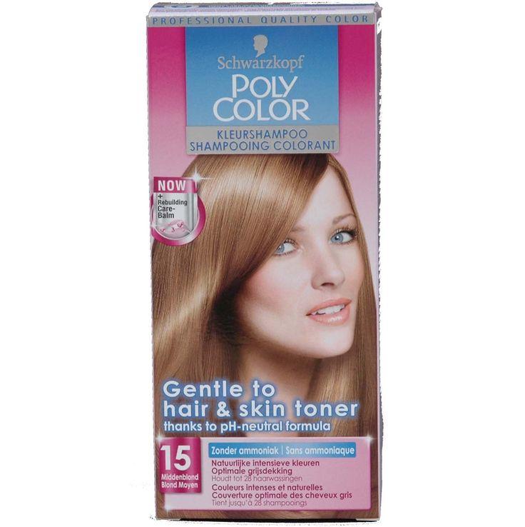 Schwarzkopf Poly Color Kleurshampoo Nr 15 Middenblond