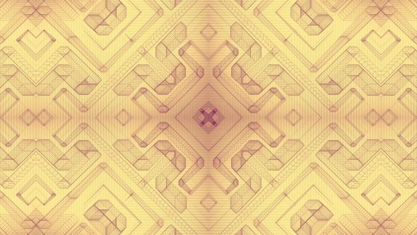 Mechanical Blueprint Kaleidoscope