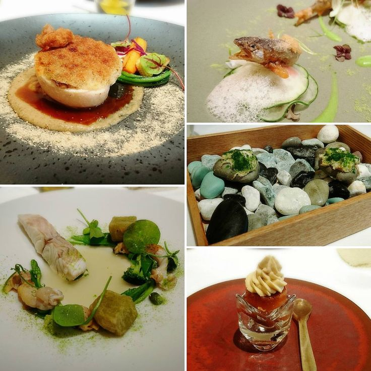 小石に見立てた小さなパンと豚のリエット フォアグラのババ(サバラン)仕立て 稚鮎のフリット 本日の鮮魚スズキ 大山どり胸肉のヴィエノワーズ  #weekend #lunch #frenchcuisine #frenchrestaurant #pork #seabass #ayu #frit #foiegras #Sabaran #REQUINQUER #ランチ #至福な時間 #フレンチ #フランス料理 #ルカンケ #スズキ #大山鶏 #リエット #サバラン #フォアグラ http://w3food.com/ipost/1524553645609063385/?code=BUoTXaXjhPZ