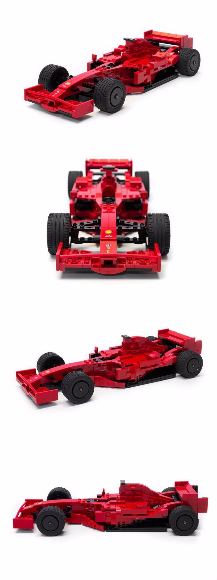 Details about LEGO Ferrari F2007 Formula 1 F1 Race Car