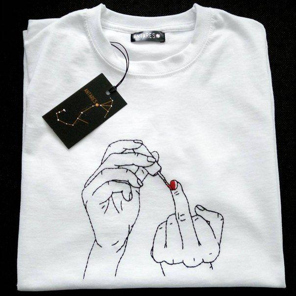 ~ Gute Kuh ~ / Store / Handstickerei auf Kleidung.