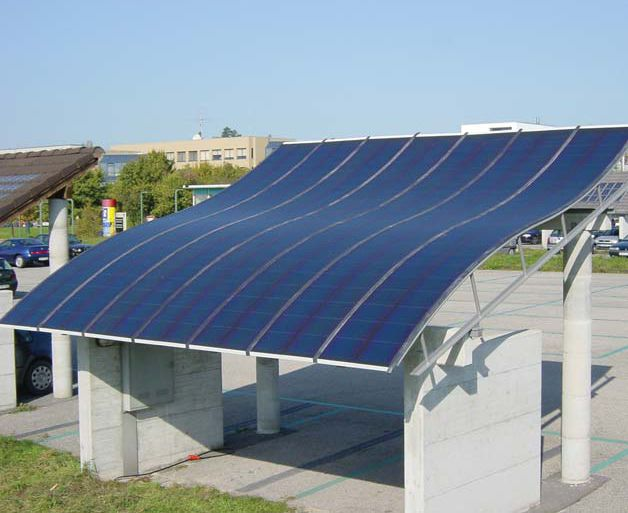 Flexible solar. I love BIPV! For the roof (and maybe the walls) on the south…