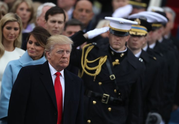 President Donald Trump so loves a good military parade that he has traveled across the Atlantic to see one.