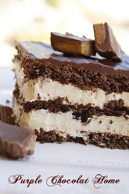 Peanut Butter Chocolate Eclair Dessert