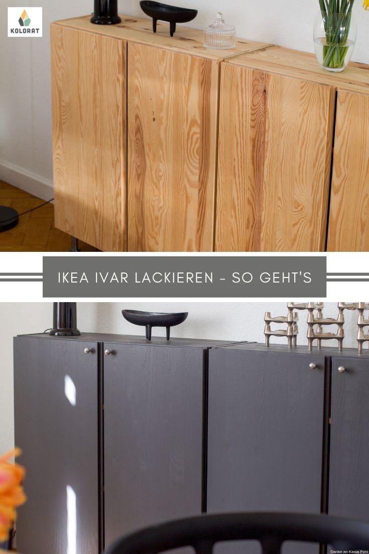 Diy Ikea Ivar Schrank Lackieren Ivar Schrank Ikea Ivar Diy Mobel Lackieren