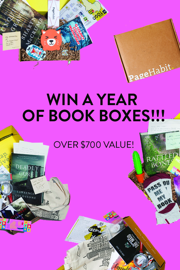 Win a Year of Book Boxes! If you Love to read but don't have the money, this is a great way to try and get some books of your favorite genre.