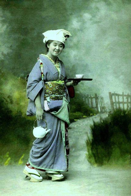 TOKIMATSU as a Country Girl TEA SERVER (Crop)   Flickr - Photo Sharing!