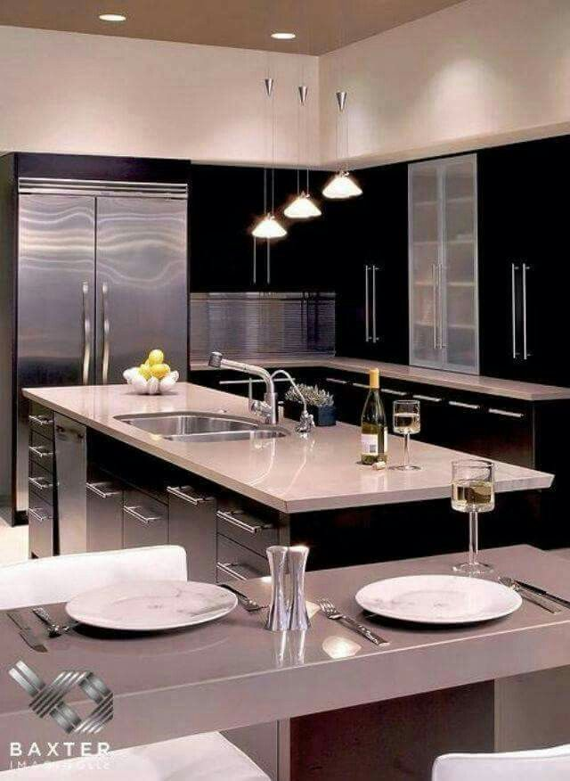 Contemporary Kitchen Designs | My Perfect Home | Pinterest | Contemporary  Kitchen Design And Kitchens