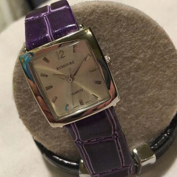 Rumours watch Purple rumours watch Rumours Accessories Watches