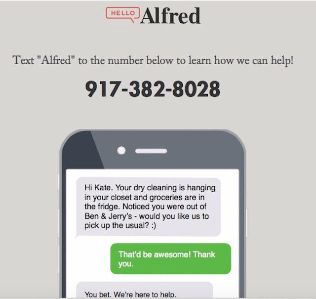 Hello Alfred Raises $10.5M To Automate Your Chores | TechCrunch