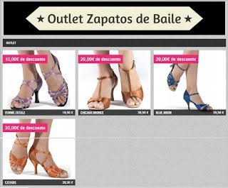 Zapatos de Baile: OUTLET ZAPATOS DE BAILE KALINDA