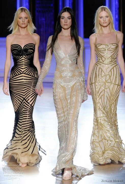 Zuhar Murad - the black and beige is speaking to me....
