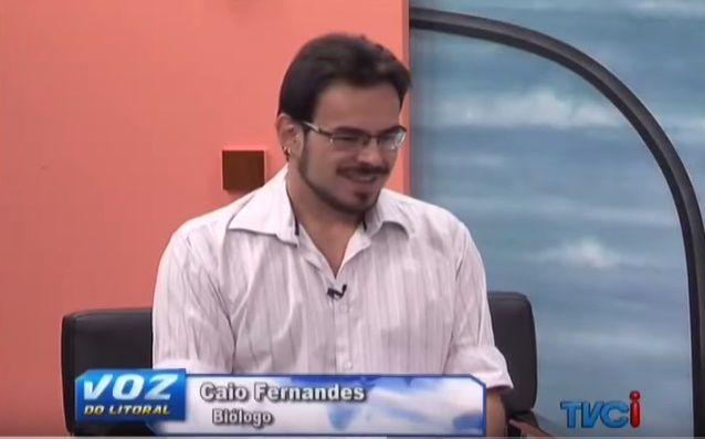 Entrevista do @Biologo_Caio Sobre o #DiaDoBiólogo para o Programa Voz do Litoral - TVCI