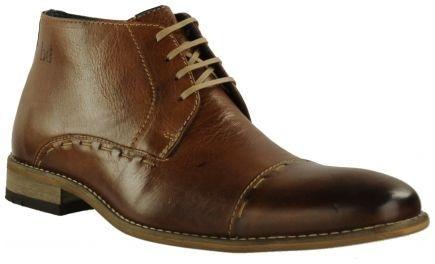 Cognac Braend geklede schoenen 422717