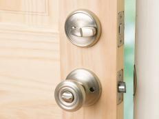 How to Install a Deadbolt Lock | how-tos | DIY