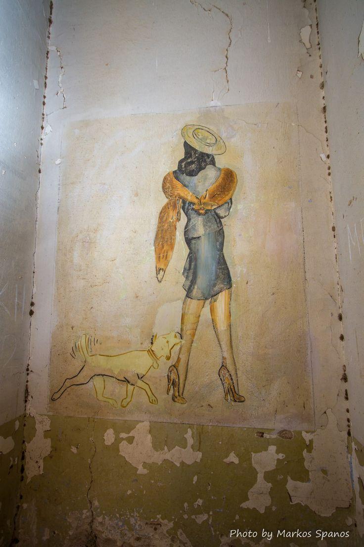 Wartime graffiti: Soldier artists turn their barracks into an art gallery