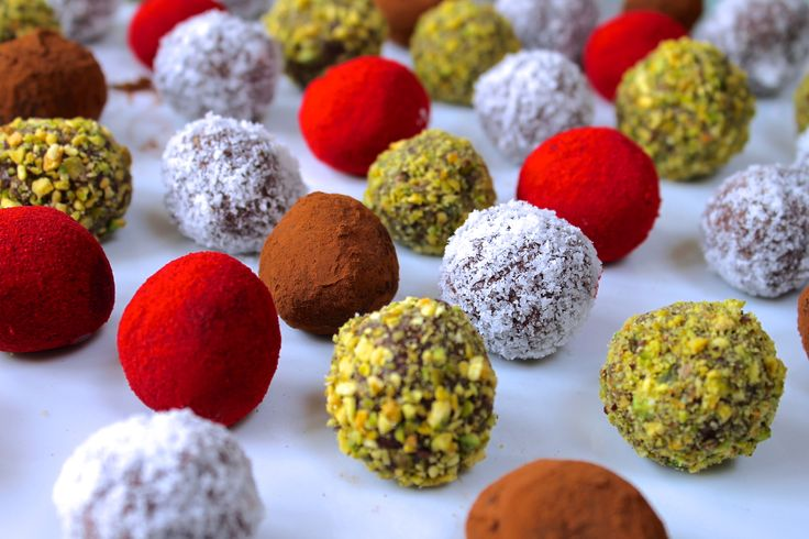 Fudgey chocolate truffles