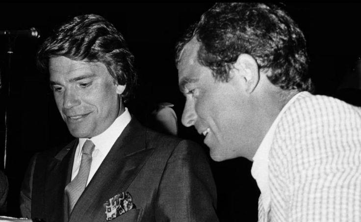Bernard Tapie Et Bernard Hinault