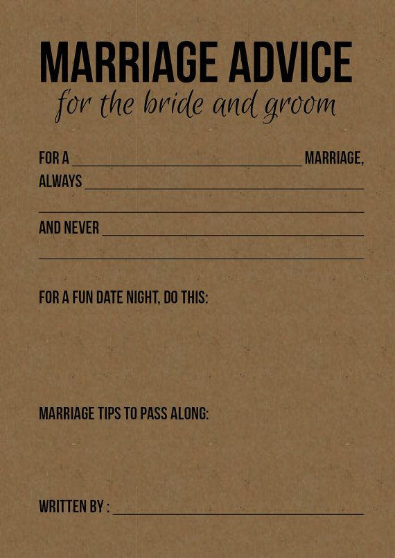 Guest book idea. Have guests fill these out and then put them in a pretty photo album