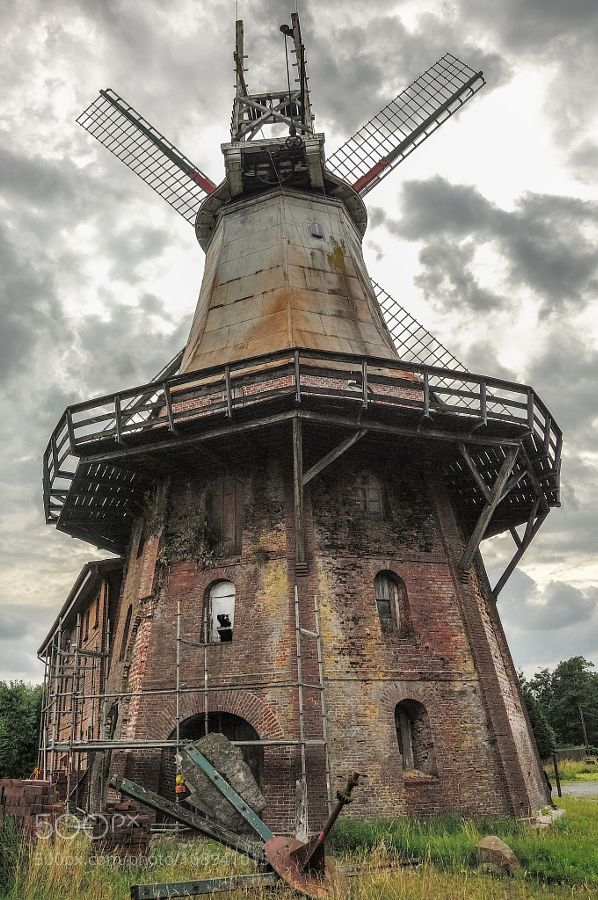 """""""old mill"""" by MichaelRehbein #architecture #building #architexture #city…"""