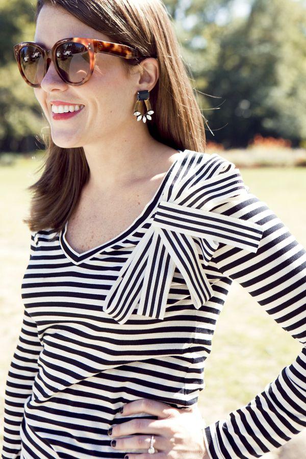 @Liz Mester Schneider in the Clara Earrings