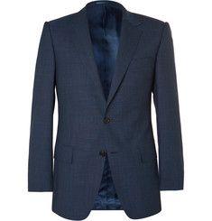 Gieves & Hawkes - Navy Wool Suit Jacket