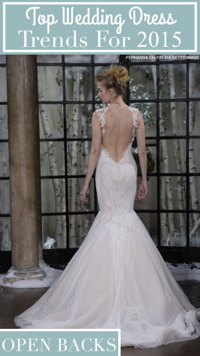 5 Trends 2015 Wedding Dresses