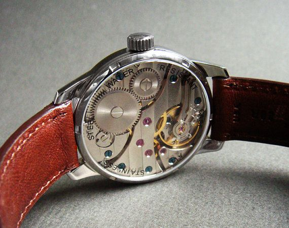 Wristwatch in Stainless Steel with handcrafted by wilkwatchworks, $475.00
