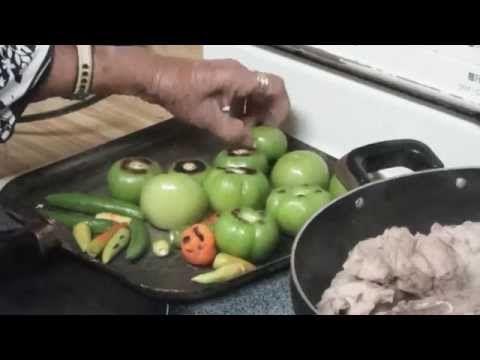 Carne de Puerco en Salsa Verde (Estilo Michoacan) - YouTube