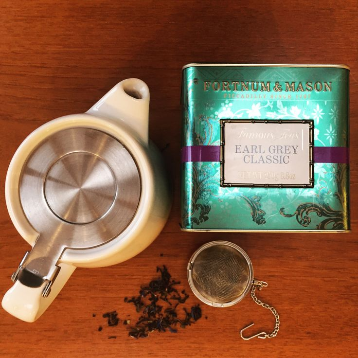 Tea's up! According to @friends_earth the majority of teabags in the UK contain a very thin layer of polypropylene plastic. Argh! FFS! Plastic is everywhere.  Luckily I love a brew with leaf tea - in a pot or an #infuser - it tastes much better. .  #Earlgrey from @fortnums and #stumpteapot  #uselessplastic #18for18 #18for2018 #leaftea #plasticfree #plasticchallenge