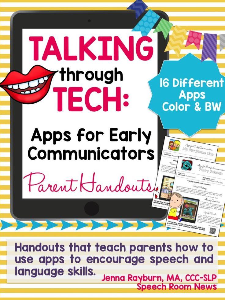 17 Best images about SLP: Parent Handouts on Pinterest ...