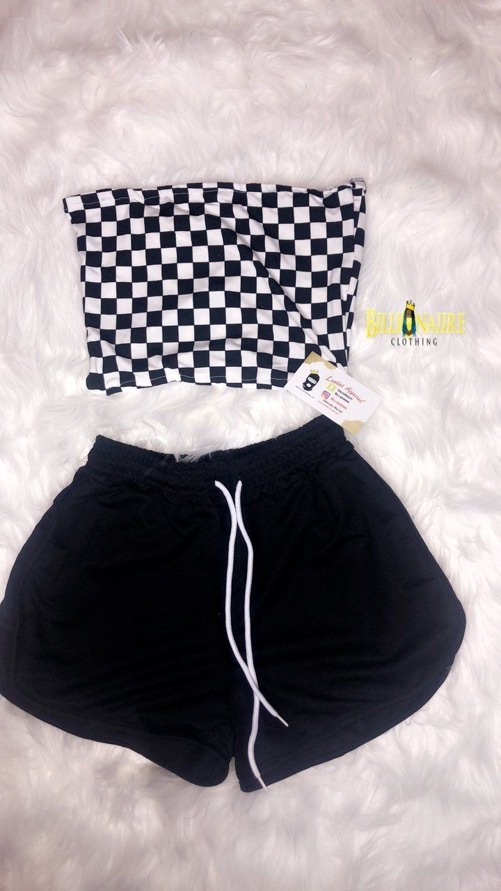 Checker Board Set   – •Tumblr Outfits•
