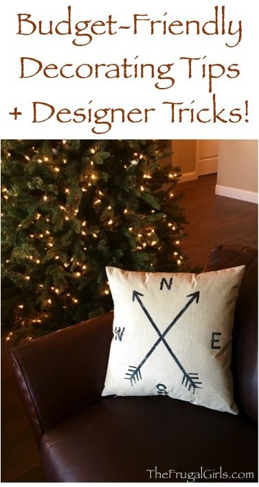 Thrifty Decorating Tips and Budget Friendly Designer ...